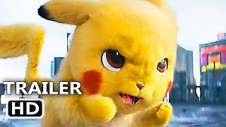 POKÉMON DETECTIVE PIKACHU New Trailer (2019) Ryan Reynolds Movie HD