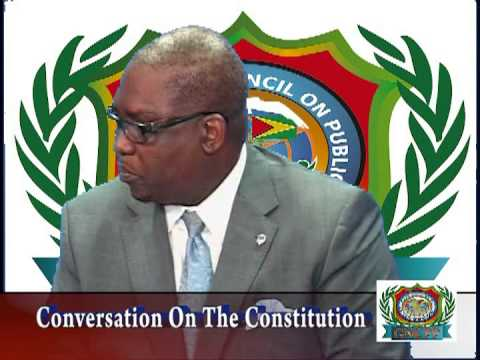 "GNCPP ""A FORUM FOR CIVIL SOCIETY"" CONVERSATION ON THE GUYANA CONSTITUTION  VTS01_4"