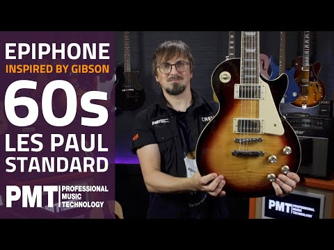 Epiphone 'Inspired By Gibson' 60s Les Paul Standard - Overview & Demo