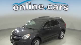 A10735YT Used 2011 Chevrolet Equinox LT AWD Gray SUV Test Drive, Review, For Sale