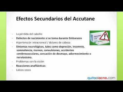 Efectos secundarios de roacutan - enfemeninocom