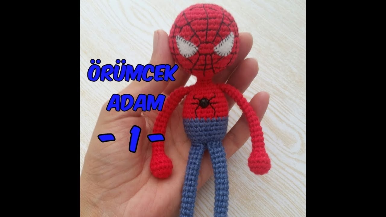 Örümcek Adam (Kol ve Bacak) Spiderman (Arm and Leg)