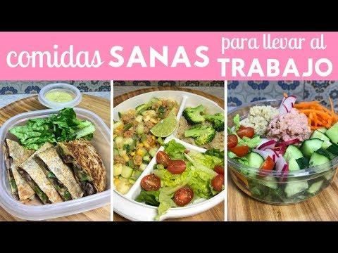 Comidas sanas y fáciles para llevar al trabajo | Cocina de Addy
