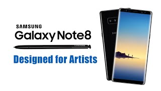 Samsung Note 8 Drawing | Quick sketching