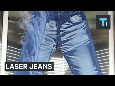 Thumbnail: This is the crazy way distressed jeans are made