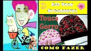Touca/gorro infantil - Completo por Dee Rosa Artesanatos