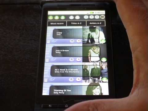 Midi Squid Music Search Android Mobile Phone & Web Application