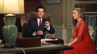 Dial M For Murder: Margot And Mark Kiss