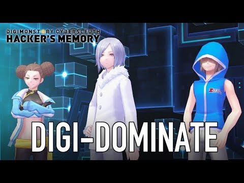 Digimon Story Cyber Sleuth Hacker's Memory - PS4/PS Vita - Digi-dominate (Gameplay Video)