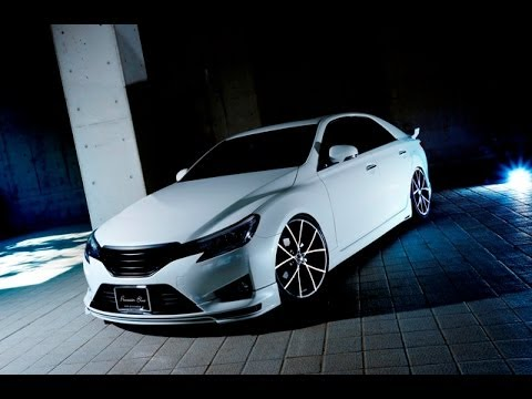 "Toyota Mark X >> TOYOTA 130 MARK-X"" Prussian Blue bodykit