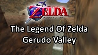 Gerudo Valley (Gerudo Festung) Zelda Ocarina Of Time [Acoustic Cover]