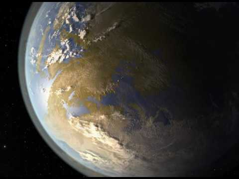 How Two Artists Imagined Kepler 186f