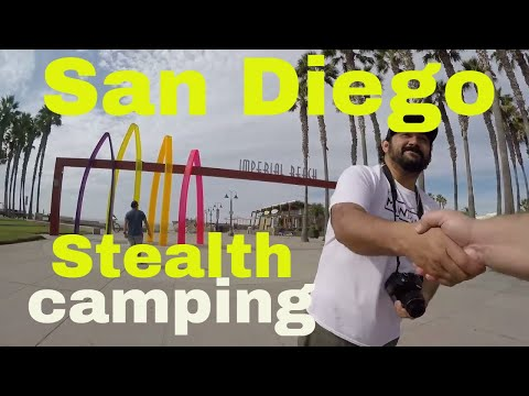 Imperial Beach Van Life On The Road Stealth Camping In San Diego California