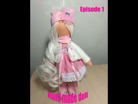 Hand made doll Кукла своими руками №1