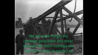 69th Annivsary of Karl Timmermann Crossing Bridge at Remagen