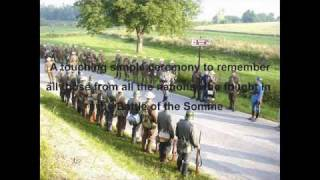 Battle of the Somme 90th Anniversary 1st July 2006