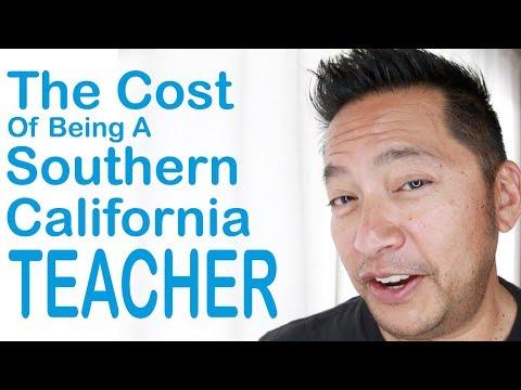 Teacher Blog - The Cost Of Being A Southern California Teacher