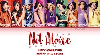 Girls' Generation (少女時代) – Not Alone Lyrics (KAN/ROM/ENG)