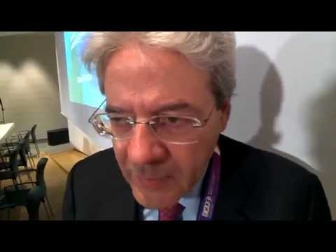 CI Africa interviews Italian Foreign Minister Paolo Gentiloni #MilanoExpo2015