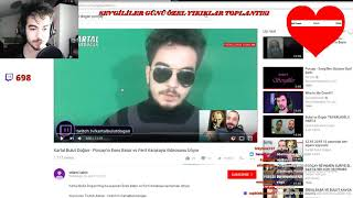 Porçay kendisine küfür eden youtuberı  izliyor