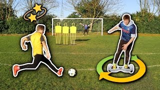DIZZY FREE KICK CHALLENGE VS W2S | Football