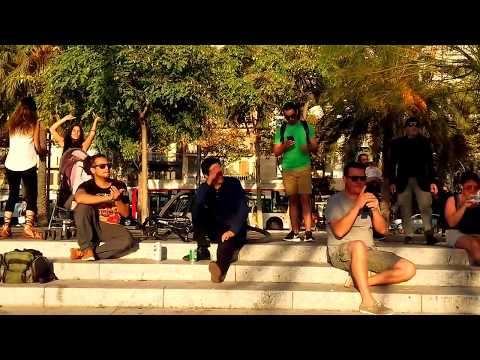 Manu Chao song LatinPanas version at port vell Barcelona