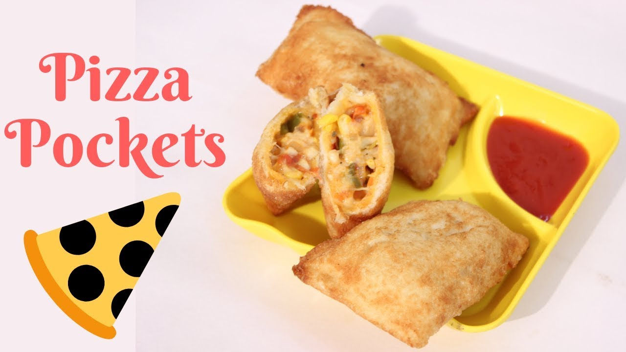 how to make pizza pockets