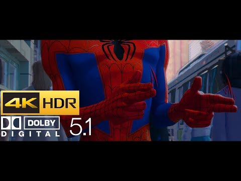 Spider-Man: Into The Spider-Verse - Opening Scene (HDR - 4K - 5.1)
