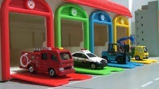 Learn Vehicles For Kids Tomica Toys  자동차 영어놀이 토미카 장난감