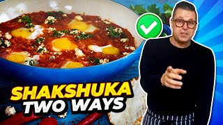 SHAKSHUKA RECIPE - Classic Soft Egg Shakshuka BY Chef Jon Ashton