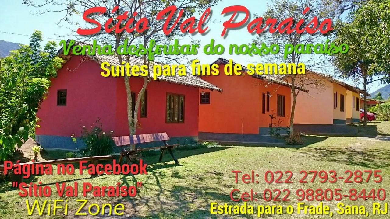 Pousada Sítio Val Paraíso - Sana, RJ - YouTube