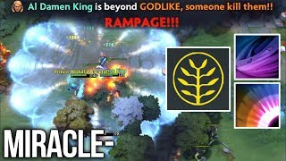 Miracle- Invoker 25 LVL RAMPAGE Talent Tree AOE Deafening Blast - Dota 2