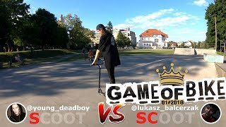 GAME of BIKE #1 Igor vs Lukasz