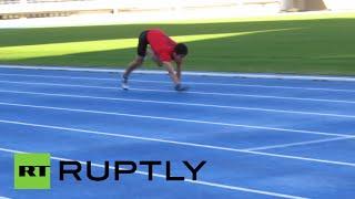 Four-legged 'monkey run' in Japan: Guinness World Record smashed