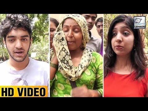 Sridevi's Fans CRYING Outside Her House | Public Reaction | LehrenTV