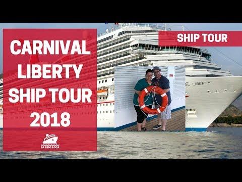 Carnival Liberty Ship Tour 2018