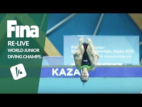 Re-Live - Day 6 Final - FINA World Junior Diving Championships 2016 - Kazan (RUS)