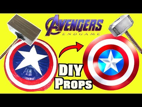 Avengers Endgame DIY Weapons You Can Make At Home Part 1 - MUST TRY | Nextraker