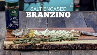 Salt Encased Branzino