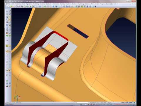 Automotive Core & Cavity creation - Step 2