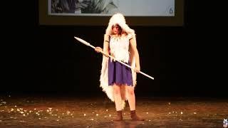 Сан, Принцесса Мононоке (Mononoke Hime) (Косплей дефиле - азия) - Fuyu no Сosplay 2019
