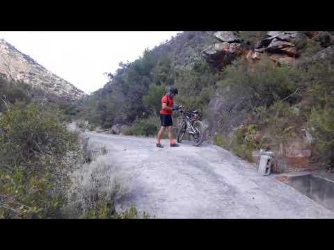 Mountain biking Fairy Glen dam