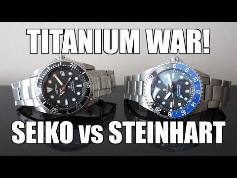 "Clash Of The Titans! Seiko Prospex ""Shogun"" SBDC029 Vs Steinhart Titanium 500 GMT - Perth WAtch #173"