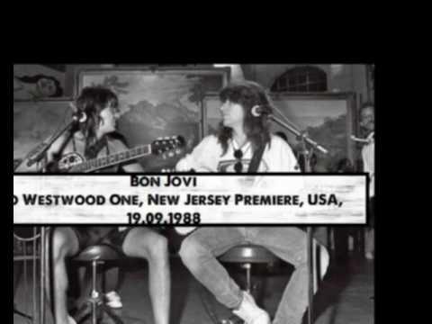 1988 - Bon Jovi - Radio Westwood One, New Jersey Premiere, USA, 19.09.1988[AI]