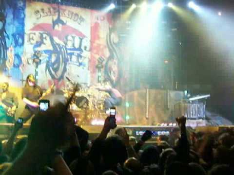 Slipknot View From The Pit Madison Square Garden 2 5 09 Youtube