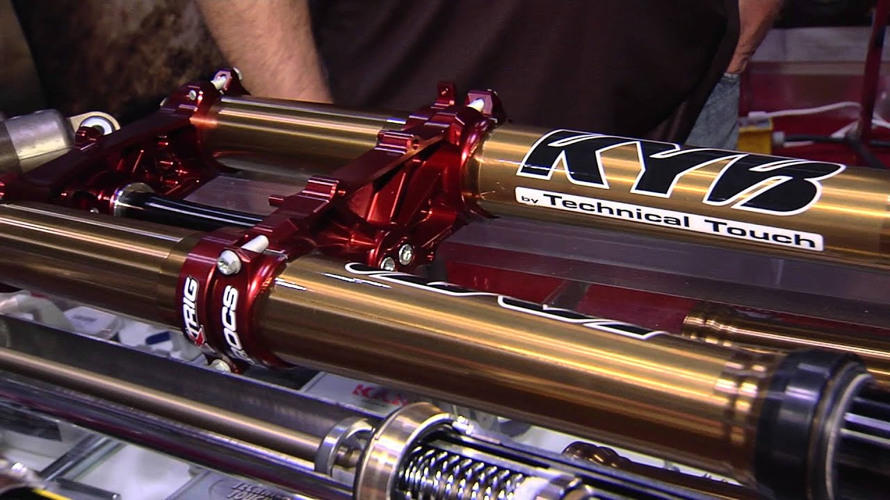KYB Suspension at the 2015 AIMExpo!