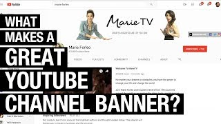 Examples of Great YouTube Channel Art Banners For Inspiration