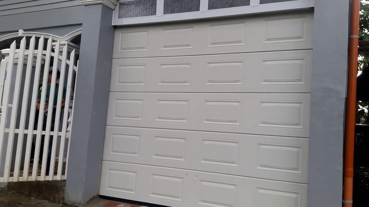 Installation Of Automatic Sectional Garage Door By Aem Door