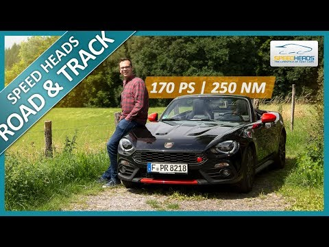 Abarth 124 Spider Test (170 PS) - Fahrbericht - Review - Speed Heads
