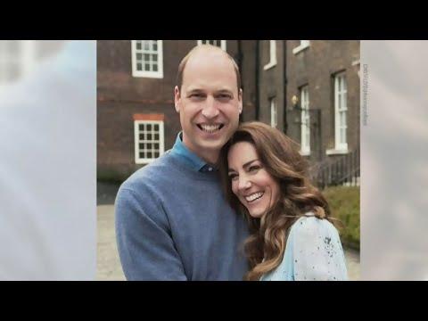 Duke and Duchess of Cambridge celebrate 10th anniversary